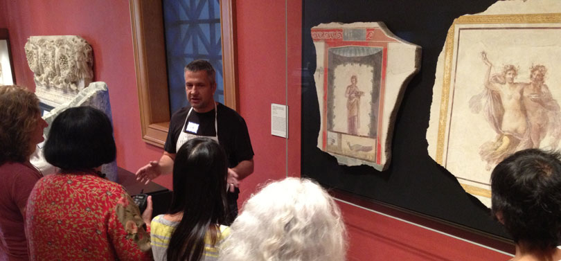 Fresco School at Getty Villa with iLia Anossov